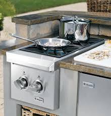 ge monogram outdoor dual burner cooktop