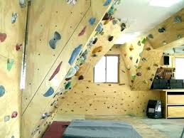 building a climbing wall home rock how to build your own depot the woody