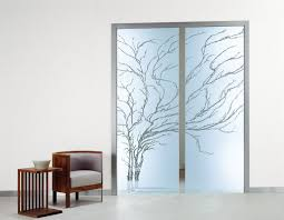 endearing sliding door with glass 24 frameless ceiling mounted pocket