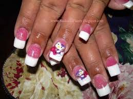 nails designs with bows hello kitty | rajawali.racing