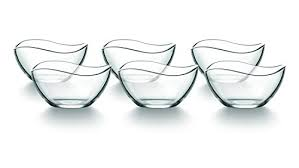 dessert bowl small glass cereal bowls set of 6 bowls glass bowl ice