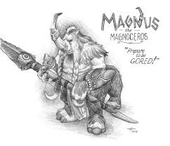 magnus the magnoceros dota 2 by fenix42 on deviantart