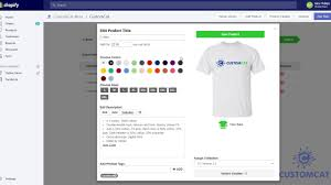 Customcat Shopify App Tutorial 3 Add Product Overview