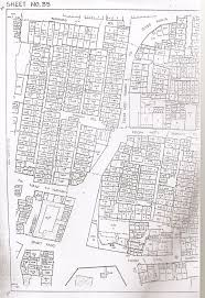 envisioning the n city plan du moti hamam pol extrait du cadastre survey sheet no 35