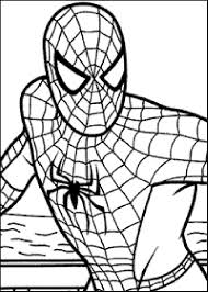 Coloriage Spiderman Les Beaux Dessins De Super H Ros Imprimer