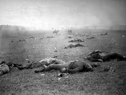 gettysburg address simple english the encyclopedia union iers dead at gettysburg photographed by timothy h o sullivan 5 6 1863