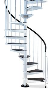 civik spiral staircase kit metal steel and wood spiral staircase fontanot