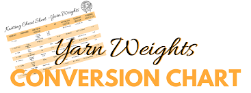 Yarn Size Chart Yarn Weight Conversion Chart Dont Be Such A Square