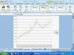 How To Create A Simple Line Chart In Excel 2007 Microsoft