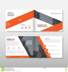 orange vector leaflet brochure flyer business proposal template orange brochure leaflet flyer annual report template design book cover layout design abstract business