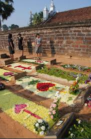 Grave Decoration All Souls Day Goa By Mr Art And Death
