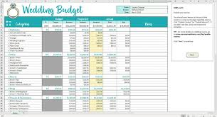 Budget Planning Template Excel 034 Free Printable Wedding Budget Checklist Planner