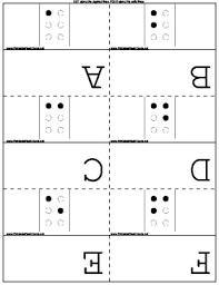 Braille Flash Cards