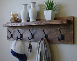 Shelf And Coat Rack Corvallis Coat Rack with Floating Shelf 47