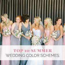 Top 10 <b>Summer</b> Wedding <b>Color</b> Schemes – Wedding Shoppe Inc