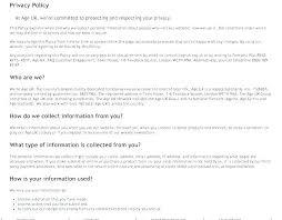 Process Change Notification Template