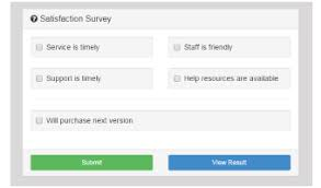 bootstrap survey form this free bootstrap template demonstrates a short satisfaction