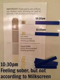 Breast Milk Color Chart Testing Breast Milk For Alcohol An Experiment Using Milkscreen