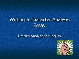 character traits a webquest for high school resource classes ppt  writing a character analysis essay literary analysis for english