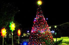 Giant christmas tree at the Mabalacat City Hall | Pampanga, Philippines