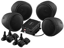 sound system amazon. sound storm smc90bb system, weatherproof, bluetooth amplifier, 3 inch speakers, inline system amazon e