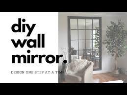 diy mirror tutorial diy