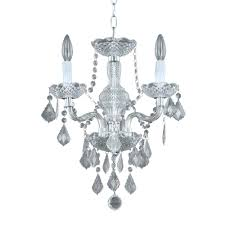 chandeliers hampton bay 3 light chrome maria theresa chandelier with black along with attractive small