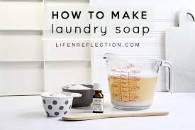 homemade liquid laundry soap ings without borax