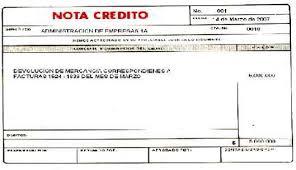 Nota Credito Comercial Formato Creditos Personales Bcr