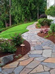 Stylish Design Ideas For Flagstone Walkways Flagstone Walkway Design Ideas  Remodel Pictures Houzz
