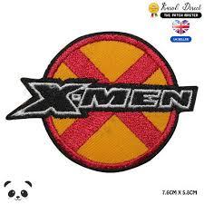 X MEN Super <b>Hero</b> Movie <b>Embroidered</b> Iron on Sew on Patch Badge