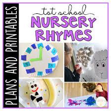 Tot School Nursery Rhymes Plans And Printables