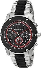 michael kors mk8292 men s watch mk watches men michael kors mens caine quartz stainless steel casual watch colorsilvertoned model mk8474 click