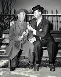 the cop and the anthem literawiki fandom powered by wikia allen jenkins left and red skelton right in a publicity picture for the 1955 american television adaptation of the cop and the anthem
