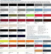 Jeep Wrangler Color Chart Bedowntowndaytona Com