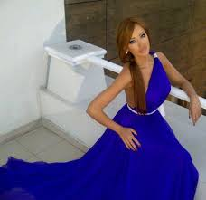 this trend is very versatile and can be worn for tail parties work and even for the most glamorous events royal blue dress will add some