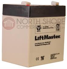 liftmaster 485lm integrated bbu replacement battery