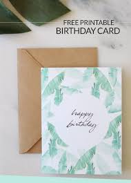 Birthday Wishes Free Printable Birthday Card Design