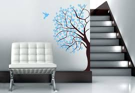 wall tree decals wall decal corner tree in 2 colors wonderful fl addition to any room corner vinyl wall decals tree branch