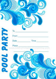 Free Pool Party Invitations Printable Adult Pool Party Invitations In 2019 Pool Party