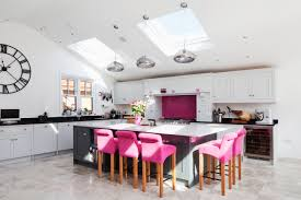 Light Pink Kitchen Interior Design Kitchen Colour Large Kitchen Island Velux