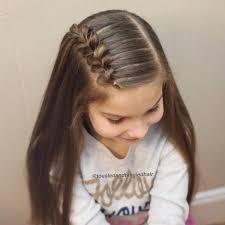 الضفيرة لتسريحات شعر البنات في العيد مجلة الجميلة