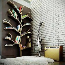 17 creative tree shaped bookshelf