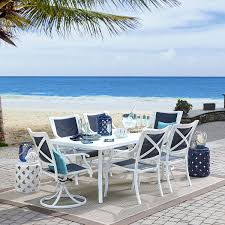 Grand Resort 7 Piece Harbor Beach Dining Set