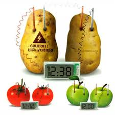 Kid Creative Educational Toy Potato Clock Environmental Protection ...
