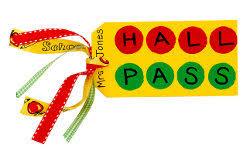 Student Hall Pass Student Hall Pass Favecrafts Com