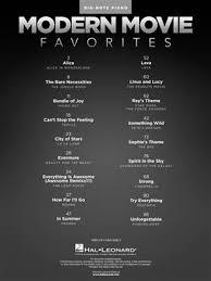 Modern Movie Favorites Music Shop Europe