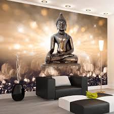 Bolcom Fotobehang Boeddha Op Een Voetstuk