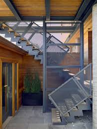 partition wall with outdoor staircase staircase modern and stainless steel outdoor wall lights and sconces