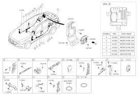 floor wiring for hyundai genesis hyundai parts deal 2015 hyundai genesis floor wiring diagram 9191511